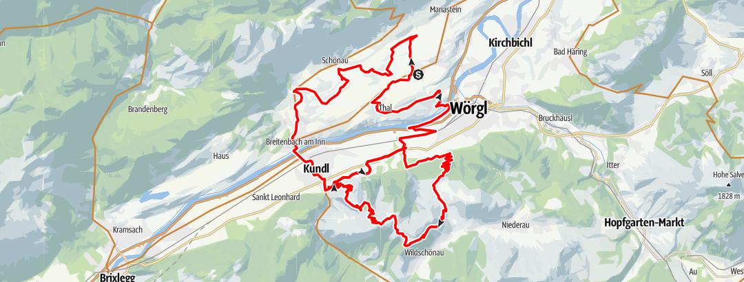 Karte / eldoRADo MTB Marathon 2021 Mittelstrecke OLD
