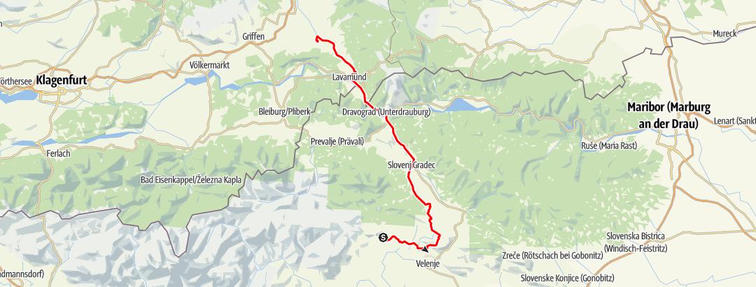Karte / Topolsica-St.Paul
