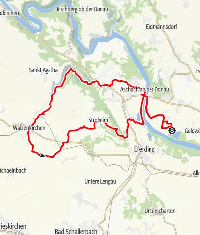 Karte / FELDKIRCHEN (OÖ) _ Panoramaradweg