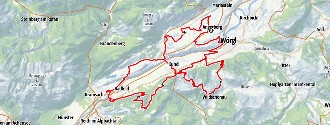 Karte / eldoRADo MTB Marathon 2021 Langstrecke OLD