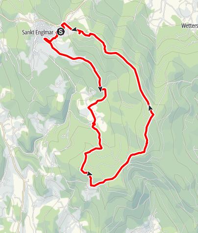 Karte / Englmarbachtal und Hirschenstein