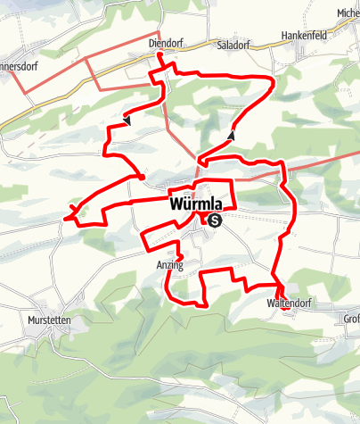 Map / Würmlas Wände
