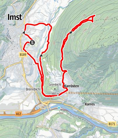 Karte / Tschirgantskyrun TS16