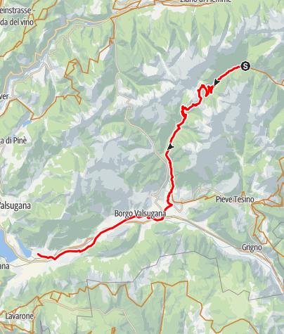 Karte / 07 - Caoria - Levicosee