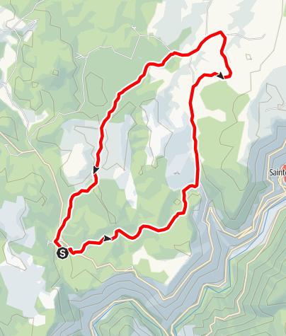 Karte / Laval du Tarn