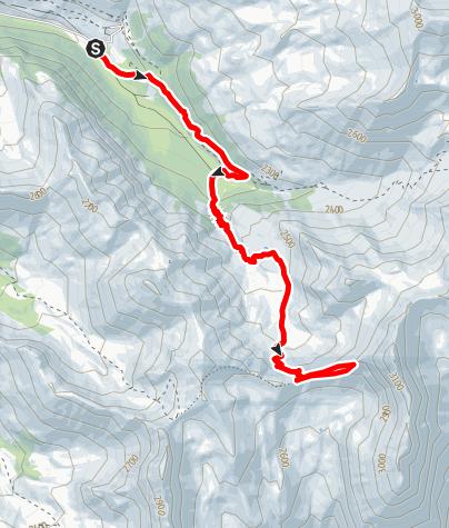 Karte / Lac de Clausis - Queyras