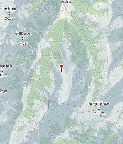 Karte / Schöntalalm 1600m