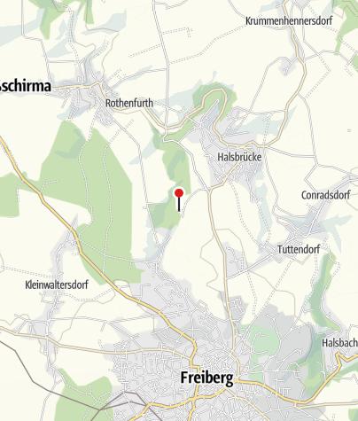 Karte / Kanzleilehngut Halsbrücke