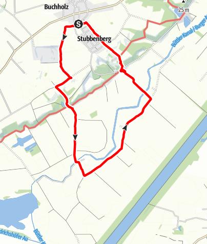 Karte / Wanderung am 7. Juni 2021 um 15:04