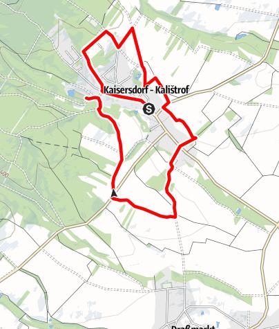 Map / Kaisersdorf-Dorfrundwanderweg