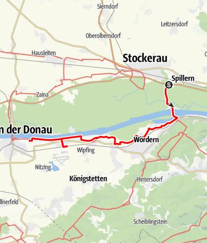 Map / Tag 8   3.7.21 - 100Jahr Wanderung: Stockerau - Tulln