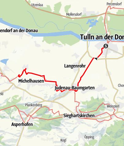Map / Tag 9   4.7.21 - 100Jahr Wanderung: Tulln - Atzenbrugg