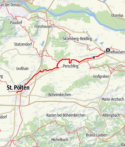 Map / Tag 10 | 5.7.21 - 100Jahr Wanderung: Atzenbrugg - St. Pölten