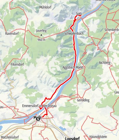 Map / Tag 12   7.7.21 - 100Jahr Wanderung: Melk - Spitz