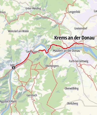 Map / Tag 13   8.7.21 - 100 Jahr Wanderung: Spitz - Krems