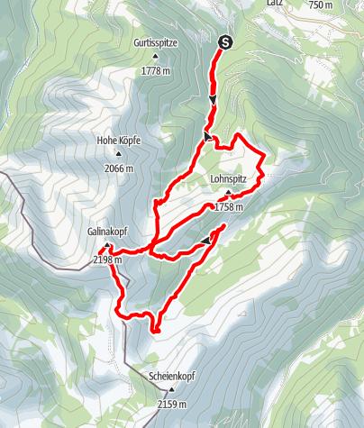 Karte / Gurtis (muggabil) -Galinakopf
