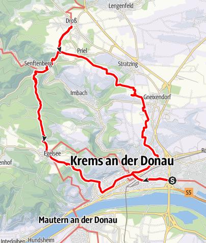 Map / Tag 14 | 9.7.21 - 100Jahr Wanderung: Krems - Droß - Krems