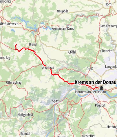 Map / Tag 15| 10.7.21 - 100Jahr Wanderung: Krems - Sprögnitz - Krems