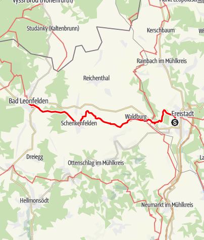 Map / Tag 20   15.7.21 - 100Jahr Wanderung: Freistadt - Bad Leonfelden