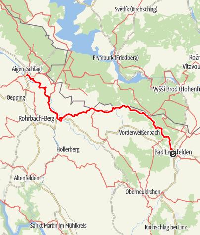 Map / Tag 21 | 16.7.21 - 100Jahr Wanderung: Bad Leonfelden - Rohrbacher Land/ Stift Schlägl