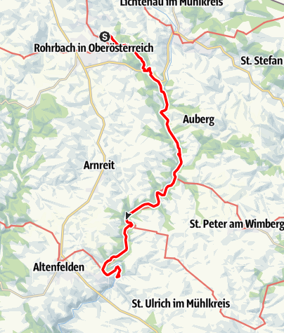 Map / Tag 22 | 17.7.21 - 100Jahr Wanderung: Rohrbach-Berg - Neufelden
