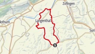 Karte / 🎬 Huttwil - St. Urban - Murgental - Wolfwil - Bleienbach - Lotzwil  (Rundtour)