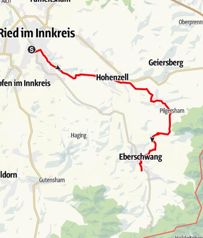 Map / Tag 28   23.7.21 - 100Jahr Wanderung: Rund um Ried