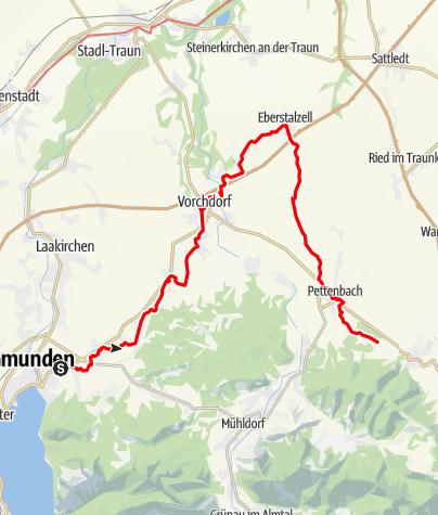 Map / Tag 35   30.7.21 - 100Jahr Wanderung: Gmunden - Magdalenaberg