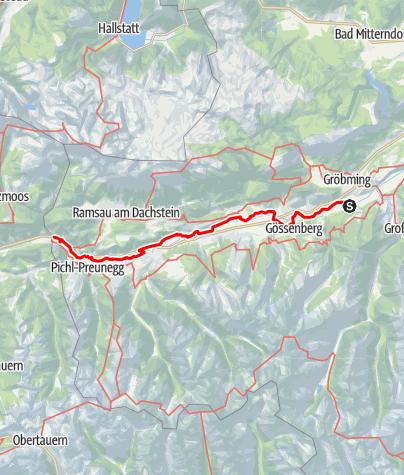 Map / Tag 42   6.8.21 - 100Jahr Wanderung: Gröbming - Mandling/Pichl