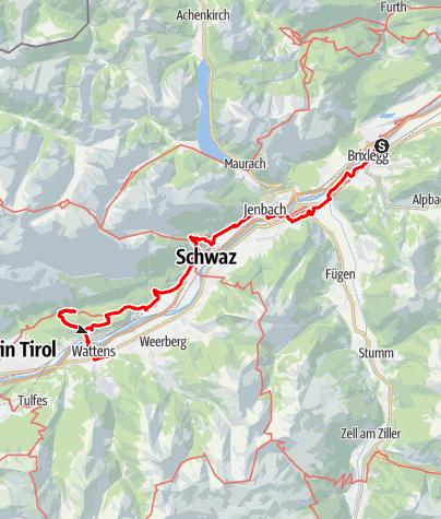 Map / Tag 52 | 16.8.21 - 100Jahr Wanderung: Rattenberg - Wattens