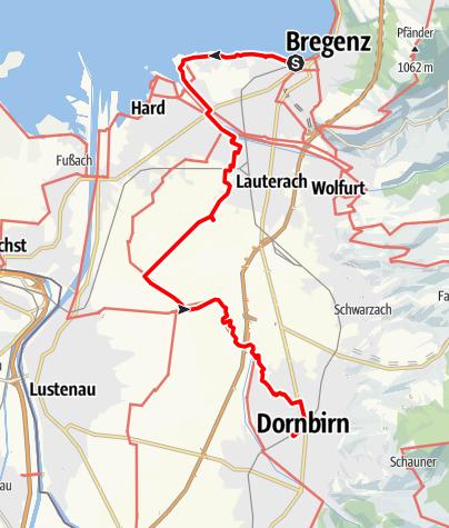 Map / Tag 55   19.8.21 - 100Jahr Wanderung: Bregenz - Dornbirn