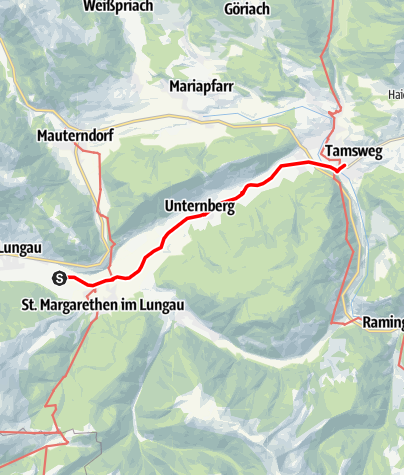 Map / Tag 64   28.8.21 - 100Jahr Wanderung: St. Margarethen/St. Michael im Lungau - Tamsweg