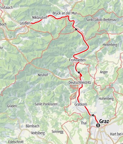 Map / Tag 82 | 15.9.21 - 100Jahr Wanderung: Graz  - Leoben