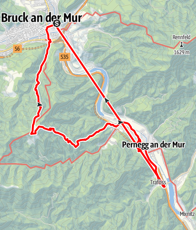 Map / Tag 85| 18.9.21 - 100Jahr Wanderung: Bruck - Pernegg
