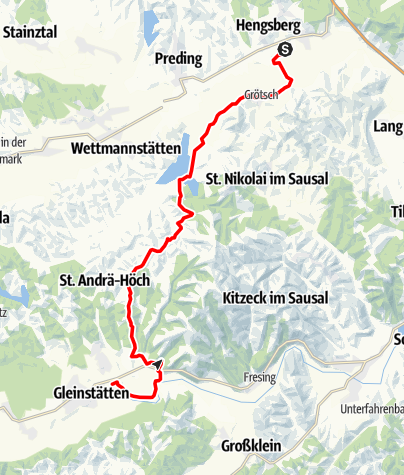 Map / Tag 89   22.9.21 - 100Jahr Wanderung: Graz/Hengsberg - Gleinstätten