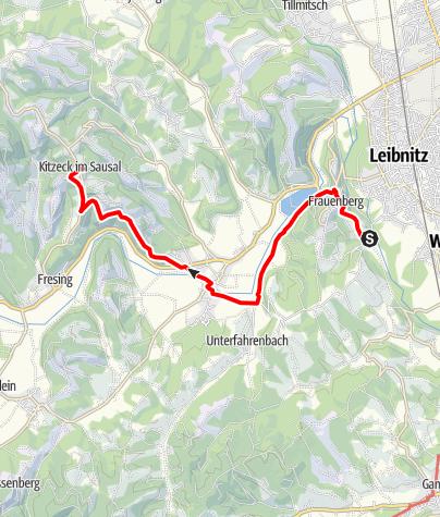 Map / Tag 91 | 24.9.21 - 100Jahr Wanderung: Leibnitz - Kitzeck