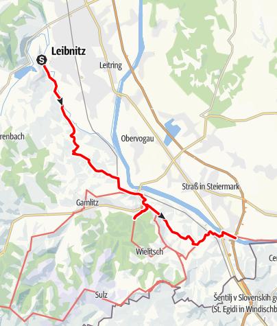 Map / Tag 92 | 25.9.21 - 100Jahr Wanderung: Leibnitz - Ausflug in die Weingegend