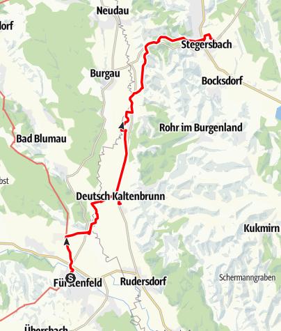 Map / Tag 94 | 27.9.21 - 100Jahr Wanderung: Fürstenfeld - Stegersbach