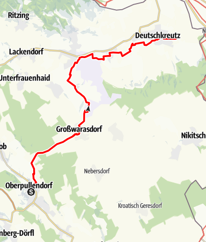 Map / Tag 98   1.10.21 - 100Jahr Wanderung: Oberpullendorf - Deutschkreutz
