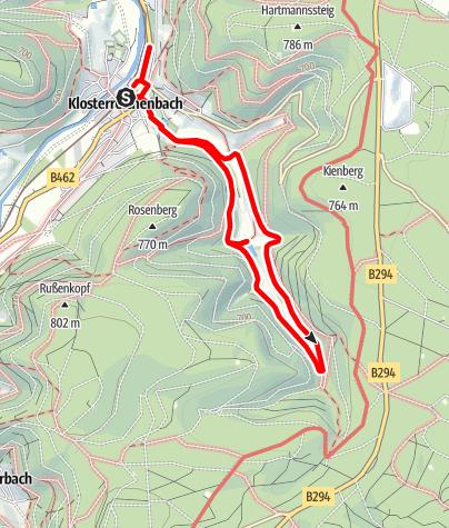 Karte / Klosterreichenbach - Reichenbachtal