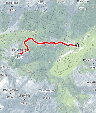 Karte / Randonnée technique le 21 juin 2021 à 08:59