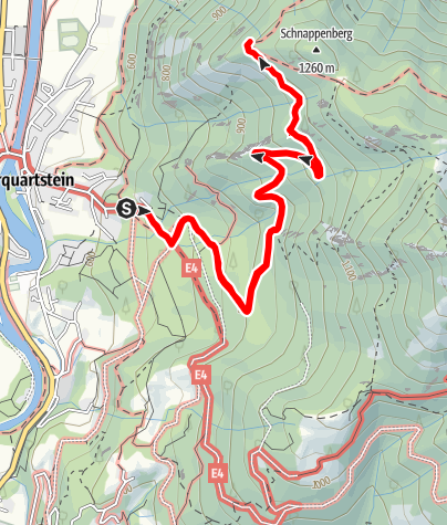 Karte / Wanderung zur Schnappenkirche