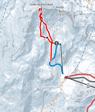 Karte / Margrötzkopf