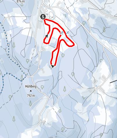 Karte / Tannenbaum-Loipe St. Englmar
