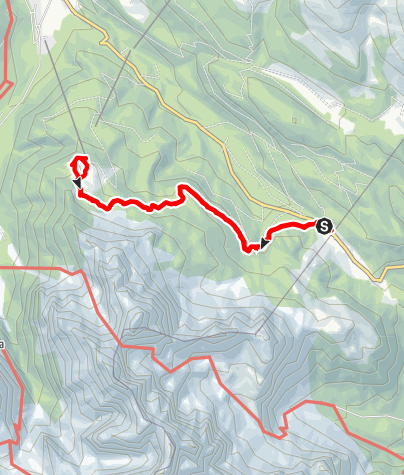 Karte / Passo Montecroce - Prati Corda Rossa