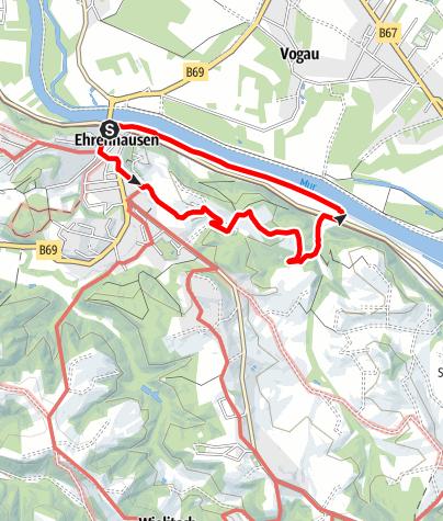 Karte / Wandern in Ehrenhausen a.d.W. Nr.4