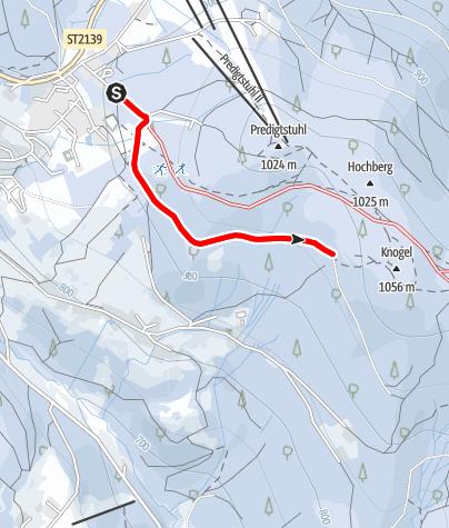Karte / Hochwald-Loipe St. Englmar