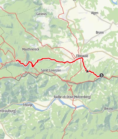 Karte / 03A Südalpenweg, E05: Pongratzen - Soboth