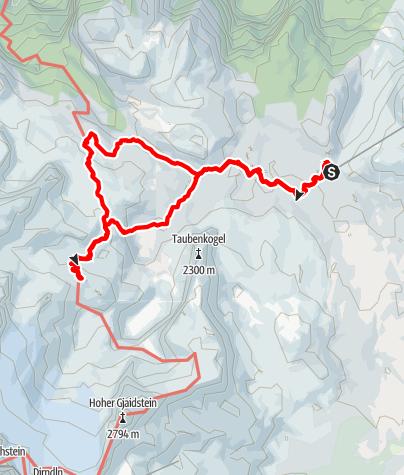 Karte / Simonyhütte