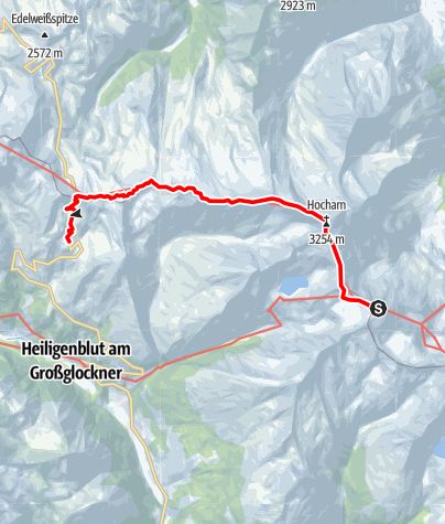 Karte / 02 Zentralalpenweg West, E07: Zittelhaus - Wallackhaus